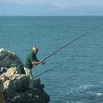 Fishing from Rocks Spain