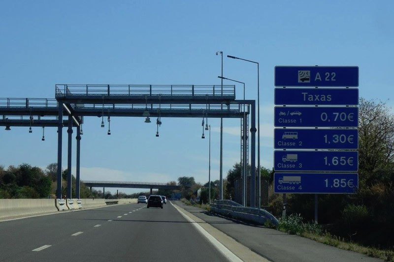 a22 toll road in Portugal