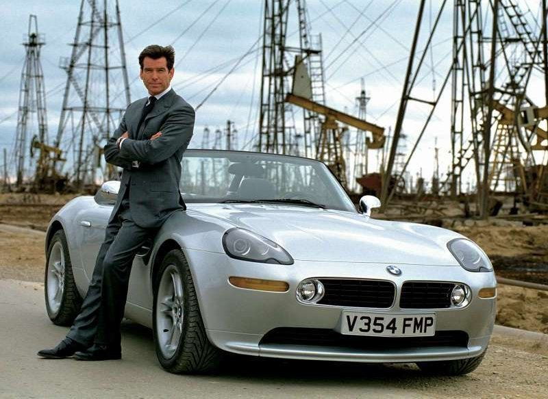The World is Not Enough BMW Z8