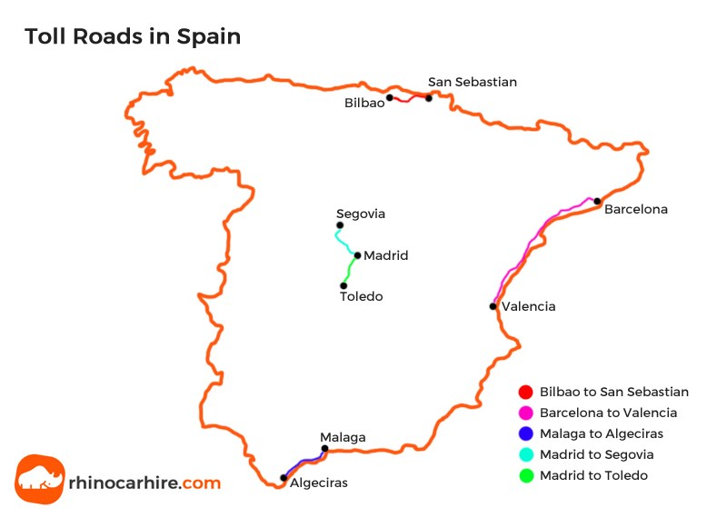 Driving From Uk To Spain By Car