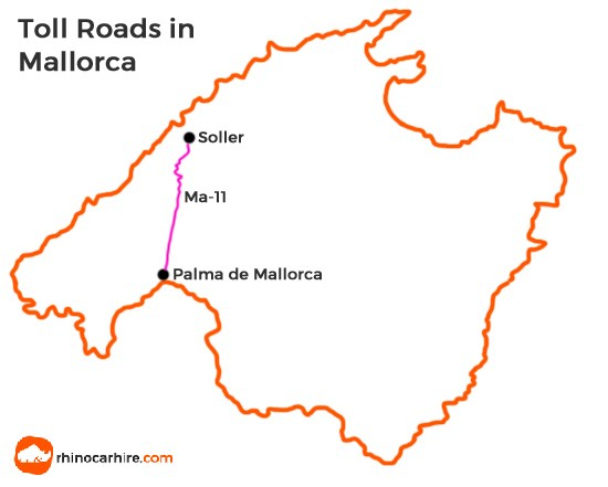 toll roads in mallorca
