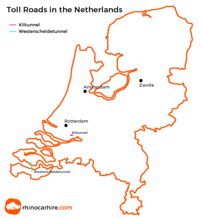 toll roads in the Netherlands