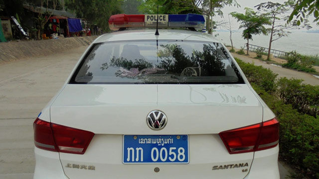 Police Cars Laos