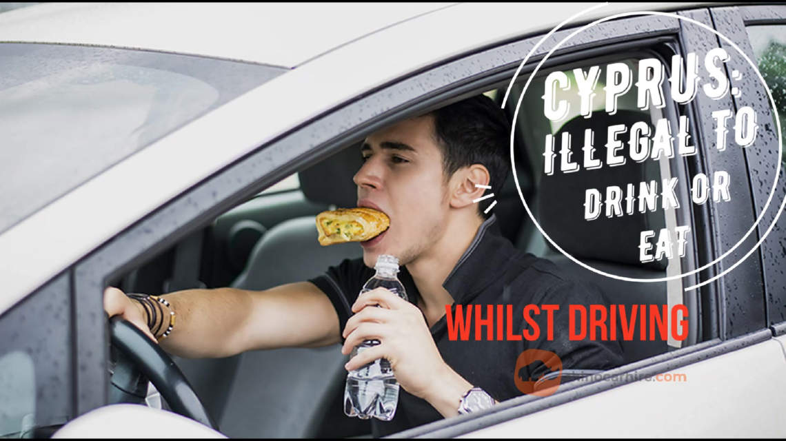 Eating or Drinkning in Cyprus when driving illegal