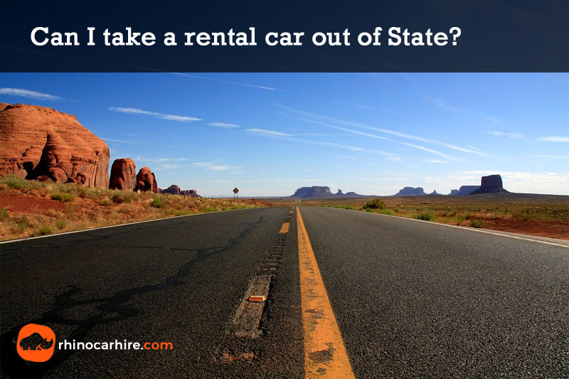 can i take a rental car out of state