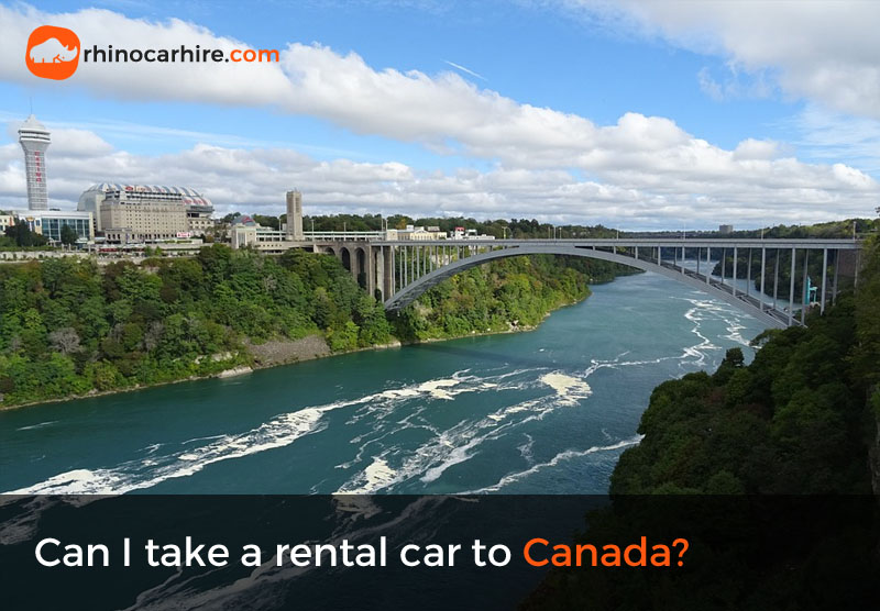 can i take a rental car to Canada