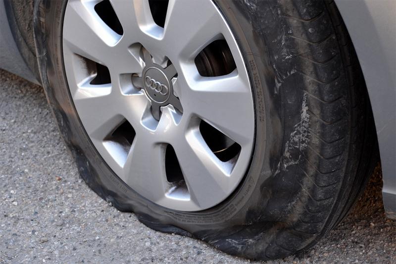 Car Rental Puncture