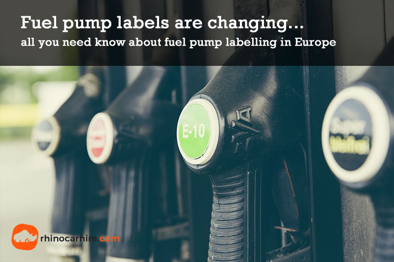 fuel pump label changes