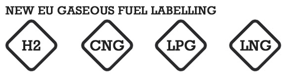 new EU gaseous fuel labelling