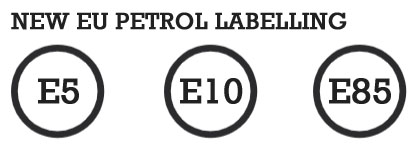 new EU petrol labelling