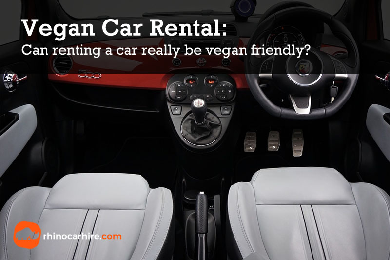 vegan car rental