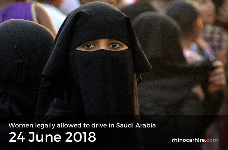 women allowed to drive in Saudi Arabia