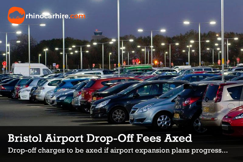 Bristol Airport drop off charges axed free parking