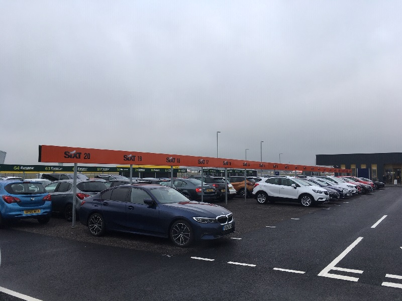 Bristol Airport Sixt Car Hire