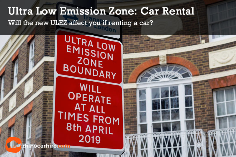 Ultra Low Emission Zone Car Hire
