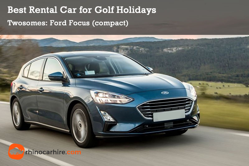best rental car golf holiday ford focus
