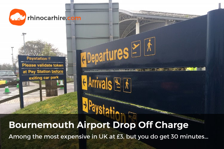 bournemouth airport drop off parking