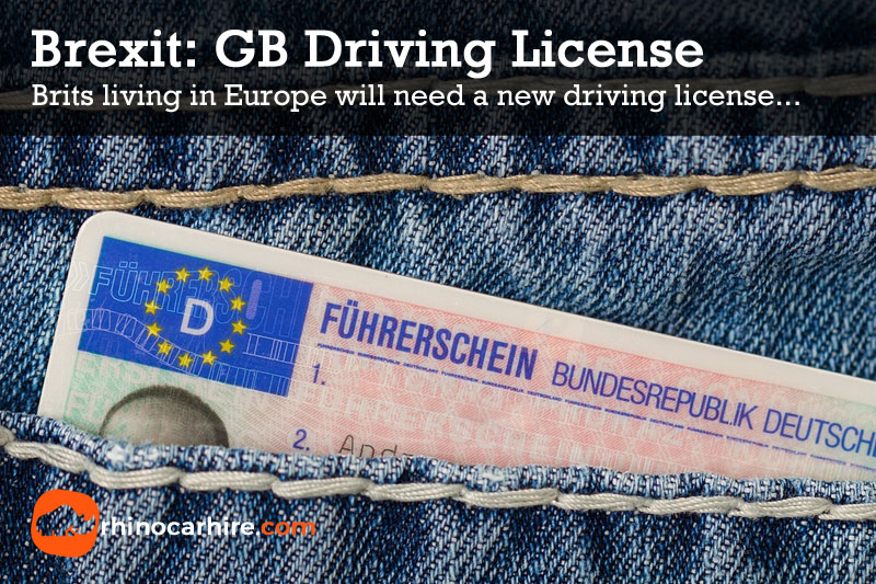 brits living in europe new driving license