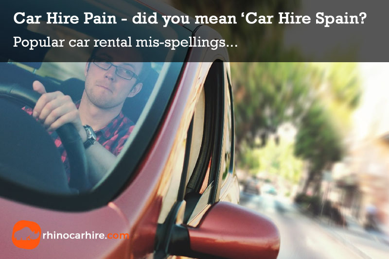 car hire pain