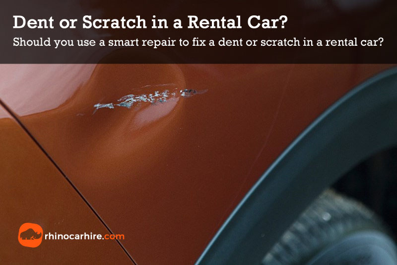 dent scratch rental car repair