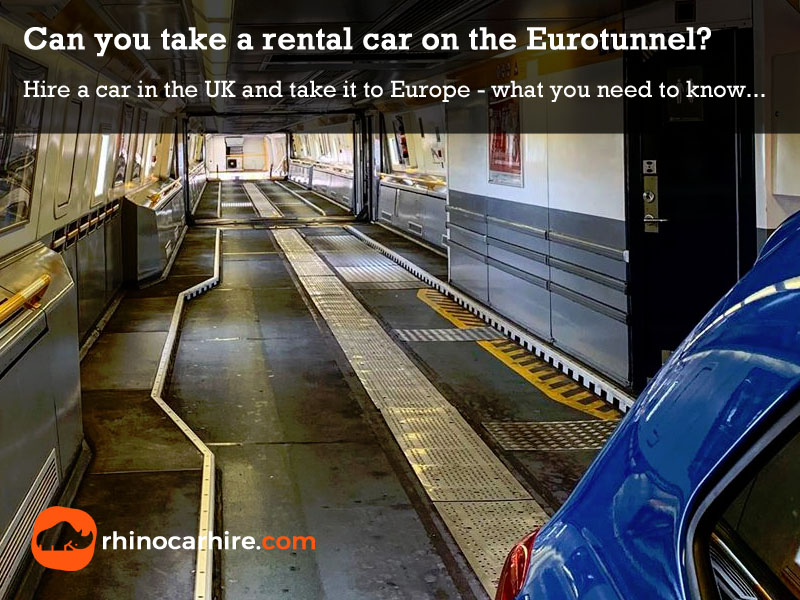 uk car hire to france eurotunnel