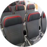 tap portugal airlines seat colour