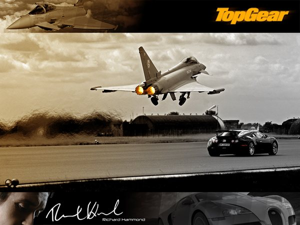 Top Gear Bugatti Veyron Vs Eurofighter