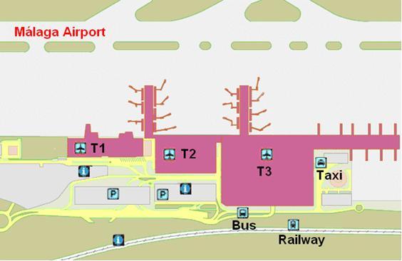 Terminal map for atlanta hartsfield airport