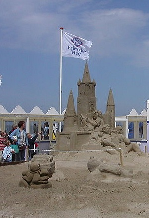Sand Sculpture at Scheveningen