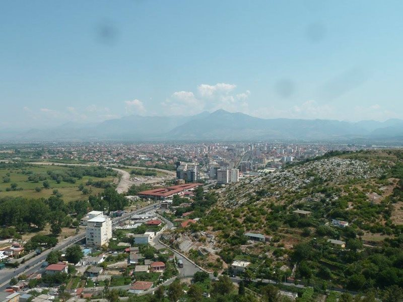 View of Shkoder Albania