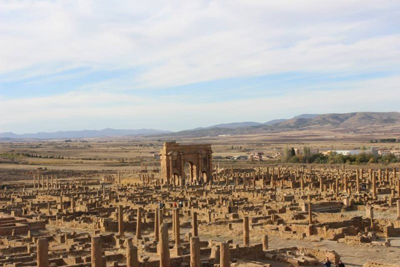 View Of Timgad Algeria