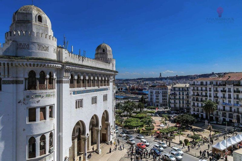 View Of Algiers City