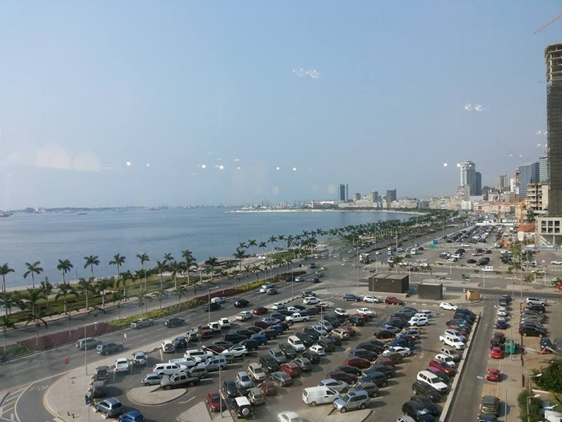 Luanda Waterfront in Angola