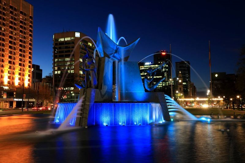 Three Rivers Fountain Adelaide