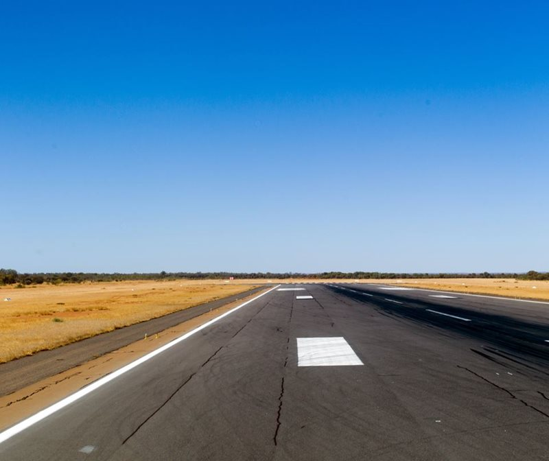 Alice Springs Airport Runway