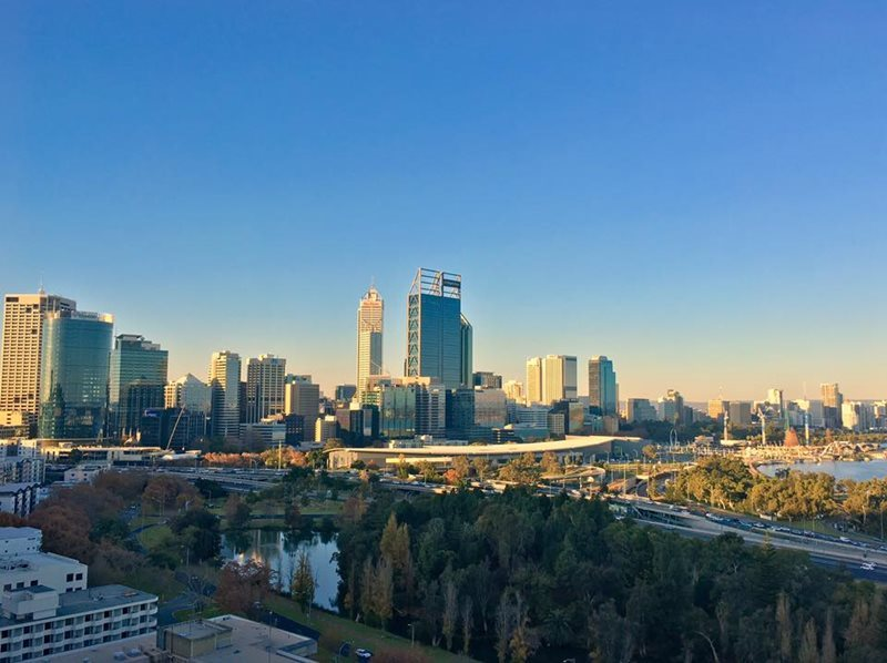 A View Of Perth Australia