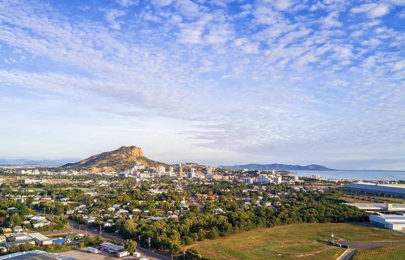 Townsville City and Castle Hill