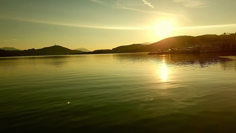 Sunset in Klagenfurt