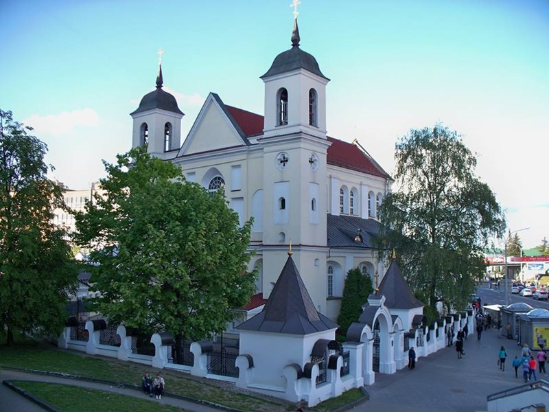 St Peter and St Paul Church in Minsk