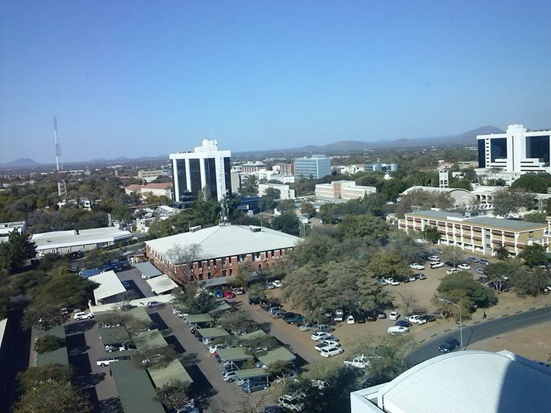 View of Gaborone