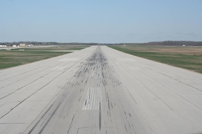 London Airport Runway