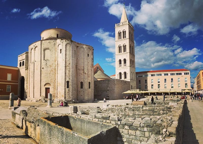 basilica of zadar croatia