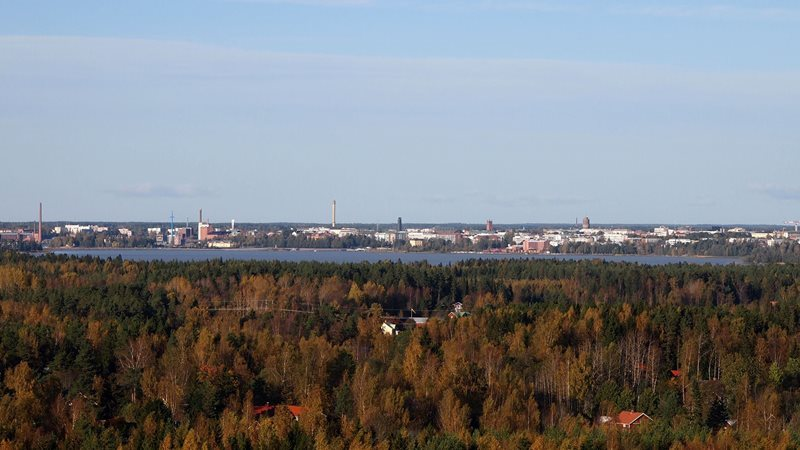 Vassa city view