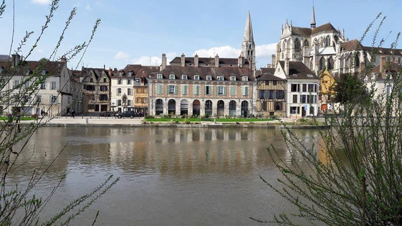 view of auxerre city
