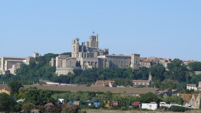cathedral of st nazaire in beziers