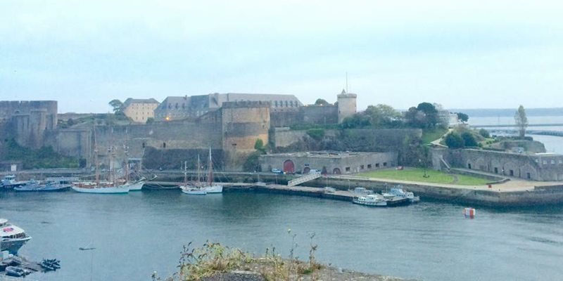view of brest france