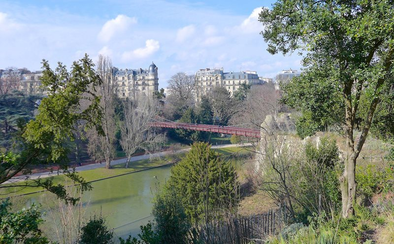 les buttes in chaumont