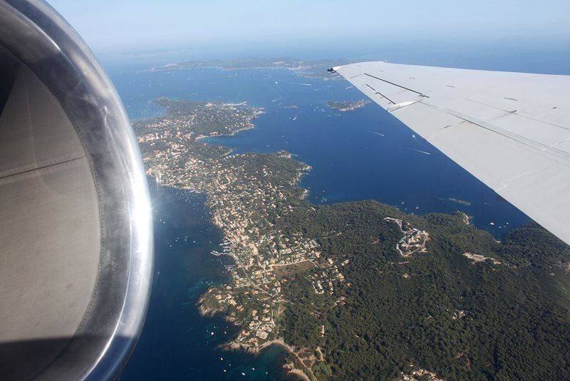 aerial view of toulon