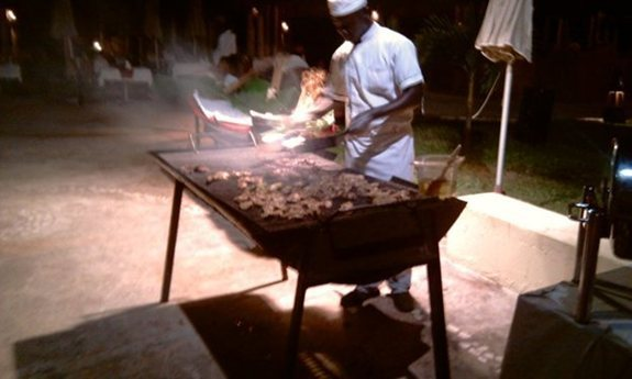 Barbecue at the Sheraton Gambia