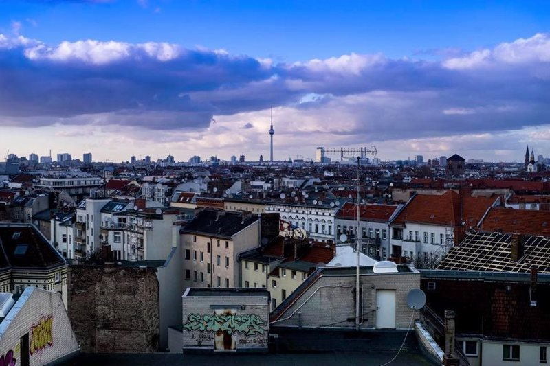 Berlin city Rooftop